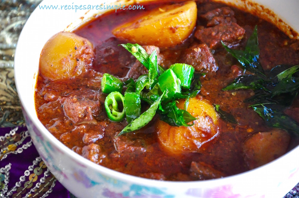 south indian beef curry RECIPE