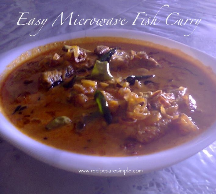 how to make chicken curry in microwave