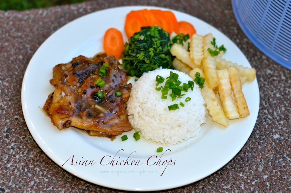 Asian Chicken Chops