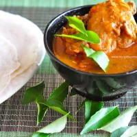 kannur chicken curry with kai pathiri