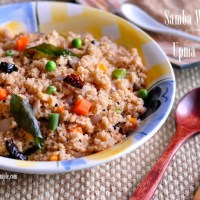 Samba Wheat Rava Upma recipe