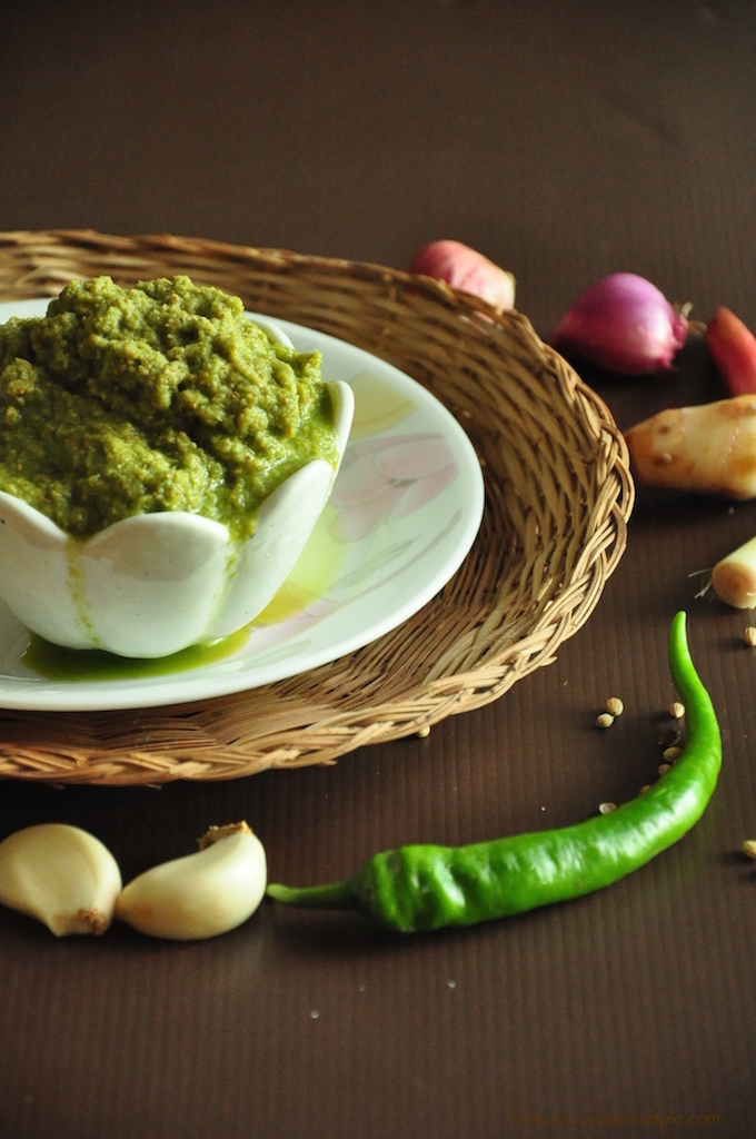 Thai Green Curry Chicken curry paste