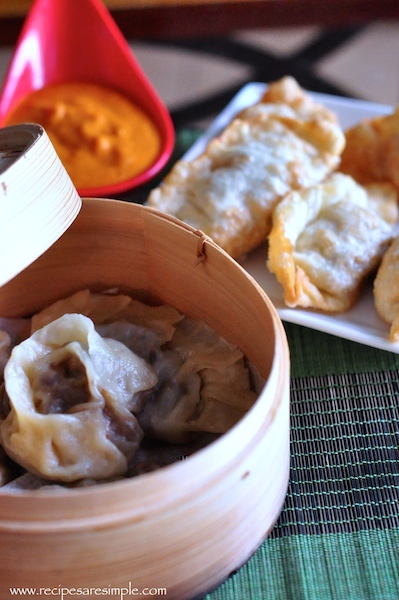 how to make mushroom momo
