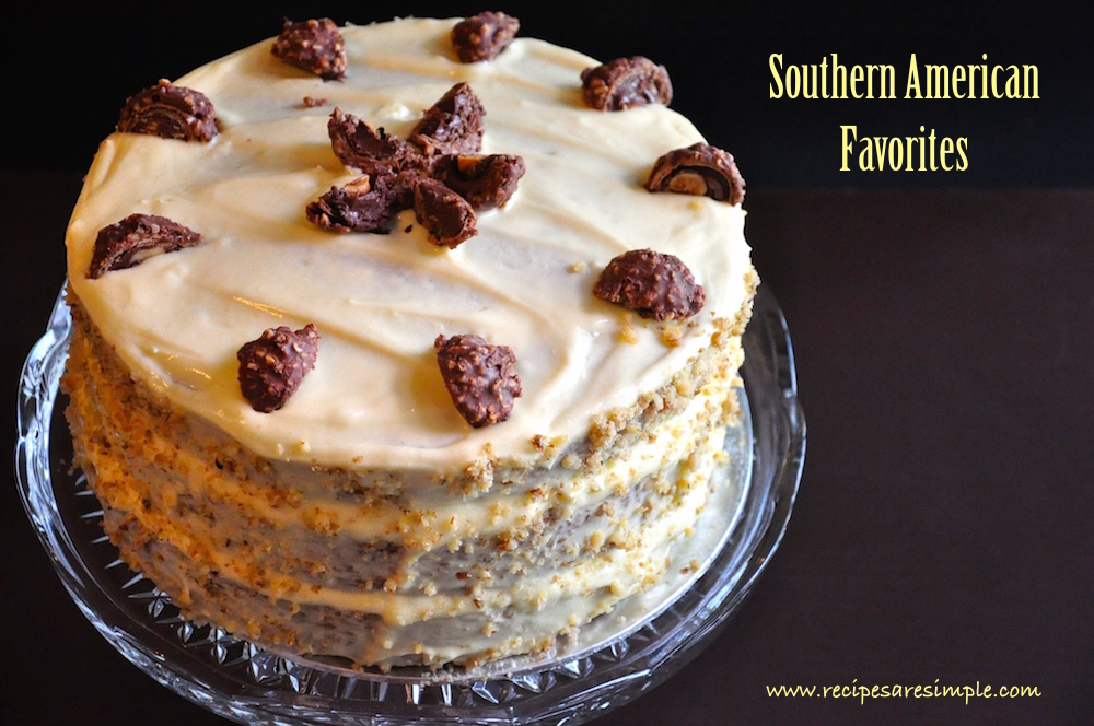 Southern American Fvorite Cakes - Hummingbird Cake