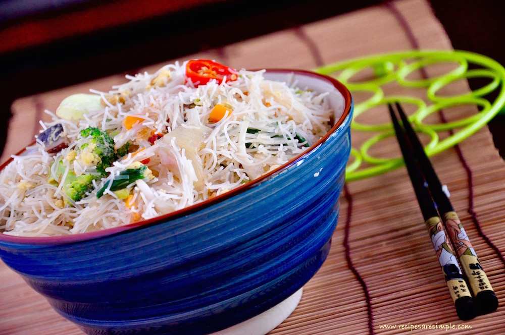 bee hoon breakfast recipe video