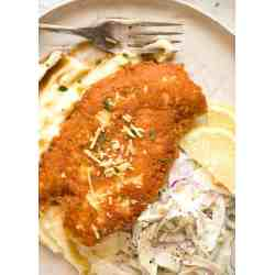 Small Crop Of Baked Parmesan Crusted Chicken