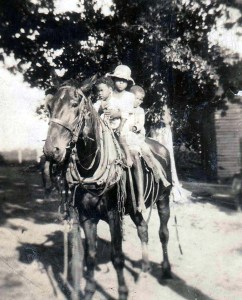 Prathers on Horseback