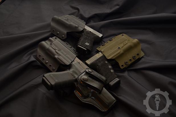 Handgun Holster Selection photo