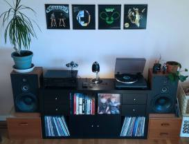 Wicked home stereo setup