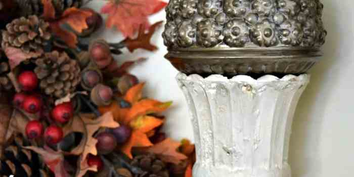A Little Fall Decor Made From Dump Store Finds and Fusion Fresco