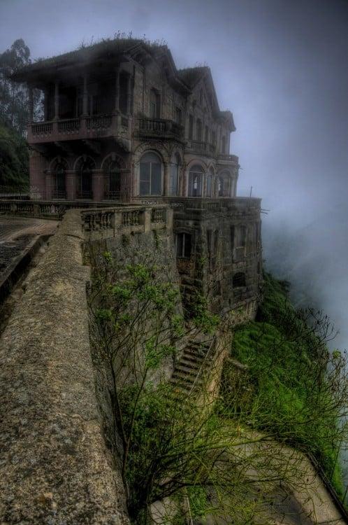 opuszczony Hotel del Salto, Kolumbia