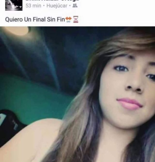 Estados facebook. Quiero un final sin fin