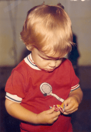 My first haircut - 1974