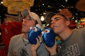 Chris and Taylor at Disney