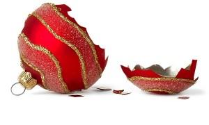 HolidayGrief broken ornament