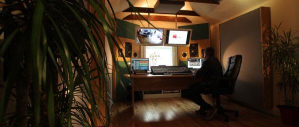 Belfast audio mastering suite