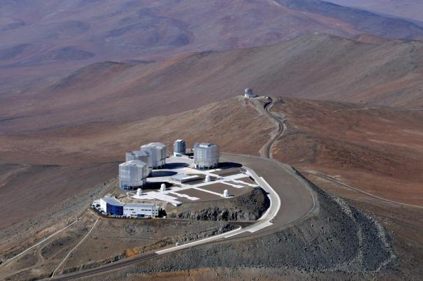 Bird?s Eye View of the Very Large Telescope*