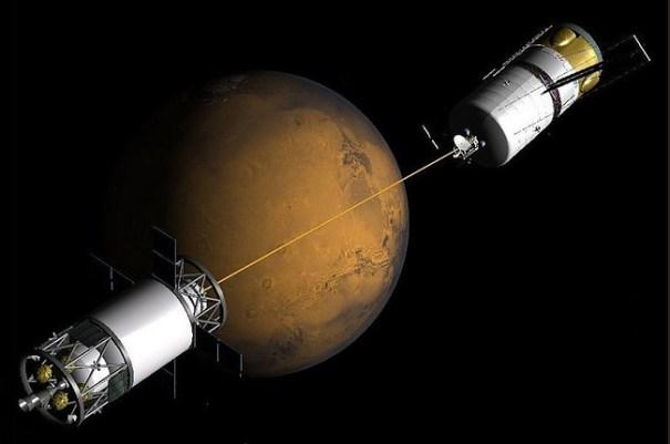 tethered-spacecraft