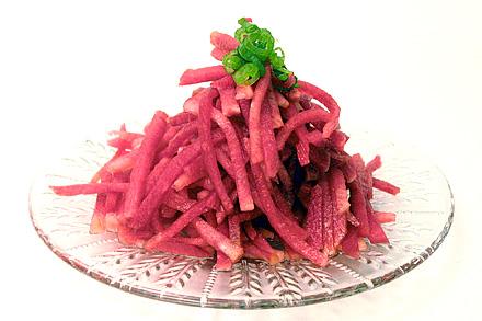 Sweet and Sour Radish Salad
