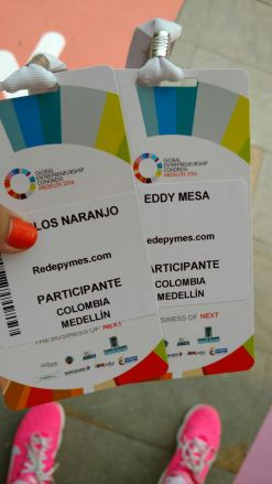 Escarapelas Global Entrepreneurship Congress Medellin 2016Escarapelas Global Entrepreneurship Congress Medellin 2016