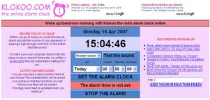 klokoo small Klokoo   the online alarm clock