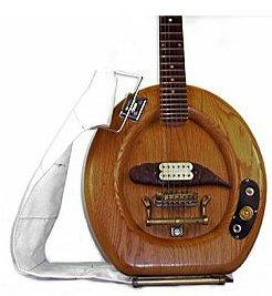 toiletseatguitar Toilet guitar.