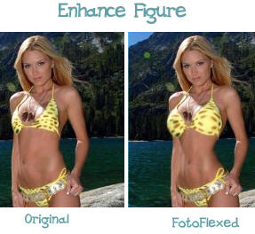 fotoflexer FotoFlexer   online service lets you improve your body image