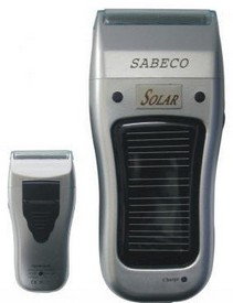 sabecosolarshaver small Sabeco Solar Powered Shaver   sun seared stubble smoother