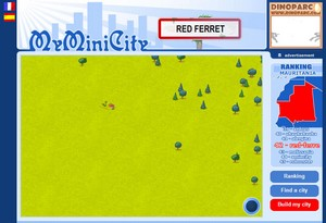 myminicity small My Mini City   Sim City meets a cute web traffic generator game