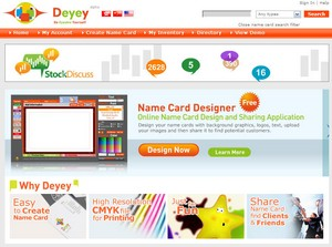 namecarddesigner small Dewey Name Card Designer   create your own business cards online