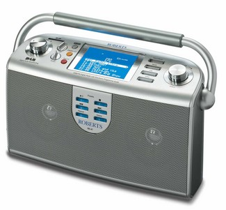 robertsepgradioMP41 small Roberts MP Sound 41 Digital Radio with 7 Day EPG   browse and book your radio pleasure