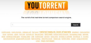 youtorrent small1 YouTorrent   one superb BitTorrent comparison search engine