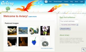 aviary thumb Aviary   beautifully ambitious online creative suite promises much...