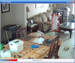 MPEGSurveillance small MJPEG Surveillance   cool free motion sensing webcam security program