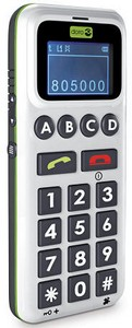 dorohandleeasy small Doro HandleEasy Mobile Phone   at last, super simple mobile phone makes voice calling a snap