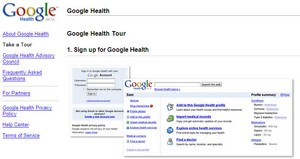 googlehealth small Google Health   search giant launches scary online health service