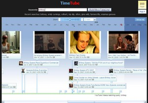 timetube small TimeTube   create a timeline of YouTube videos