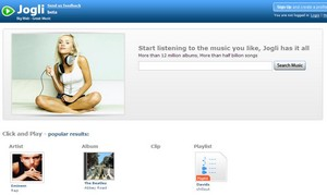jogli small Jogli   very cool music search engine manages to deliver value in mega crowded market