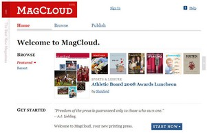 magcloud small MagCloud   publish your own print on demand magazines