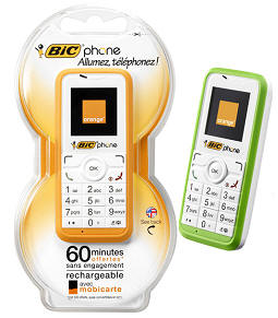 bicphone The BIC Phone   so is the mobile phone really a commodity now, Grandpa?