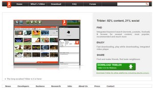 tribler1 small Tribler   completely decentralised BitTorrent client poised to revolutionise file sharing services