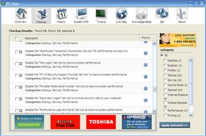 pcfixer small PC Fixer   free Windows system fixer utility offers some useful tools