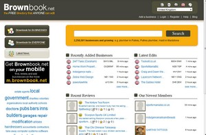 brownbook small Brownbook   the free search directory that anyone can edit