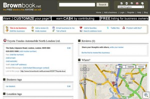 brownbook2 thumb Brownbook   the free search directory that anyone can edit