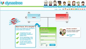 dynastree small Dynastree   your cute online family tree