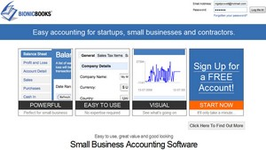 bionicbooks small Bionic Books   small business accounting gets a slick Web 2.0 makeover