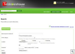 tenderwarehouse2 thumb TenderWarehouse   new job auction service makes it easy to find local contractors