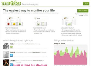 metrics small Me trics   gather and analyse your own lifestyle stats