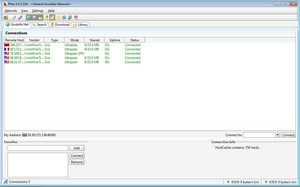 phex small Phex   Gnutella file sharing freeware