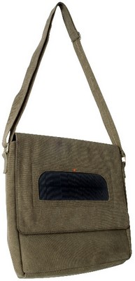 solarpoweredtravelbag small1 Solar Powered Travel Bag   plain and fancy, earthy and bleugh...